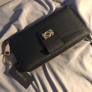 Bebe Clutch wallet Never Used